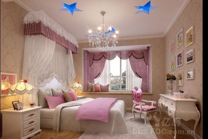 欧式情趣卧室装修