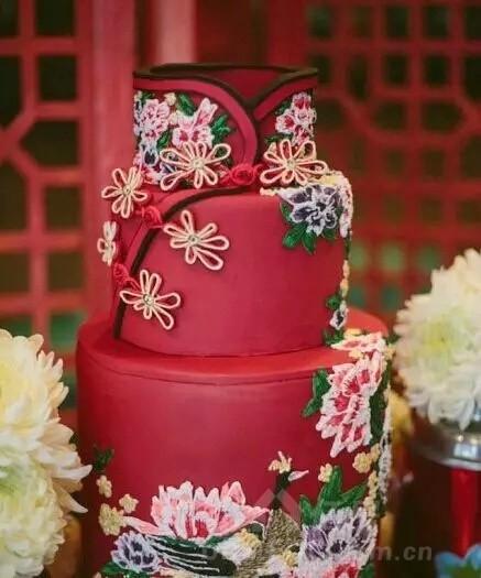 孩子过生日来一款中国风蛋糕,美翻了