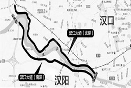 【建设】武汉规划建设汉江大道