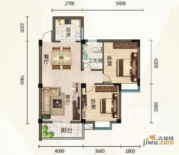 曦郡二手房出售,2室2厅,汉阳大道红光南段 蔡甸工商分局附高清图片