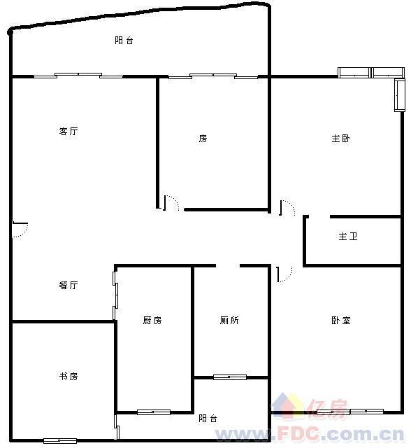 多层花园洋房一线临湖 巨大阳台,武汉武昌区秦园路武汉市武昌区友谊大道318号二手房4室 - 亿房网