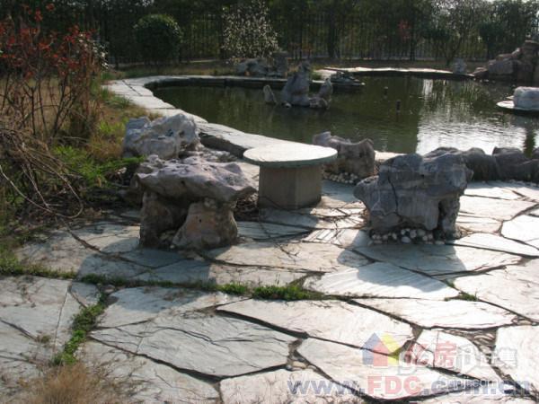 小桥流水-3亩地花园精装独栋别墅