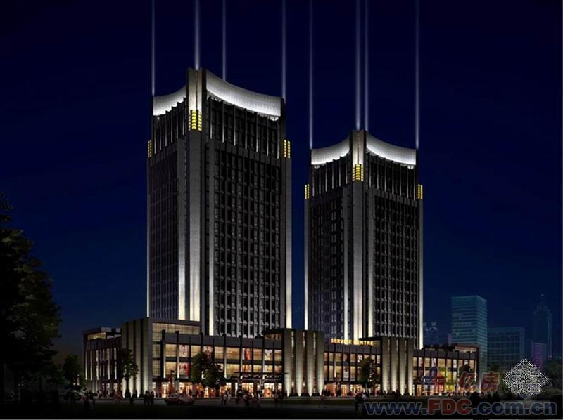 某大厦夜景照明设计方案