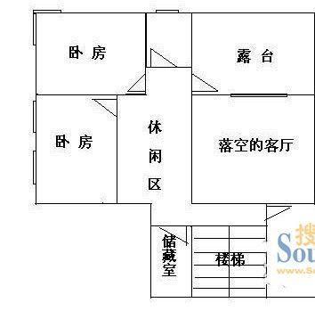 5楼100平方房子设计图