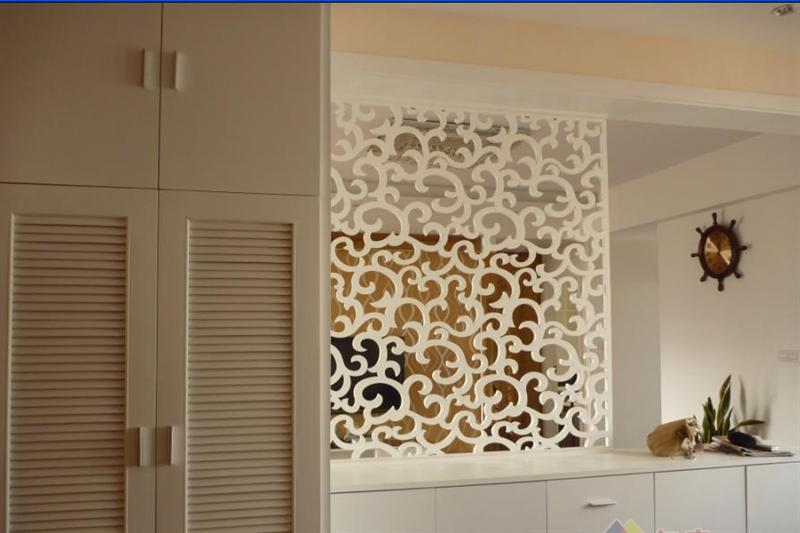 全房高档实木地板,装修雅致温馨