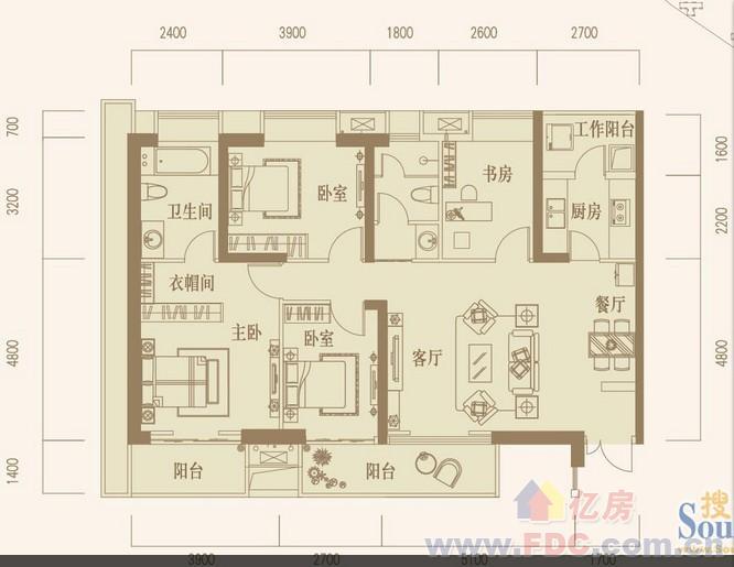145平方房屋设计图