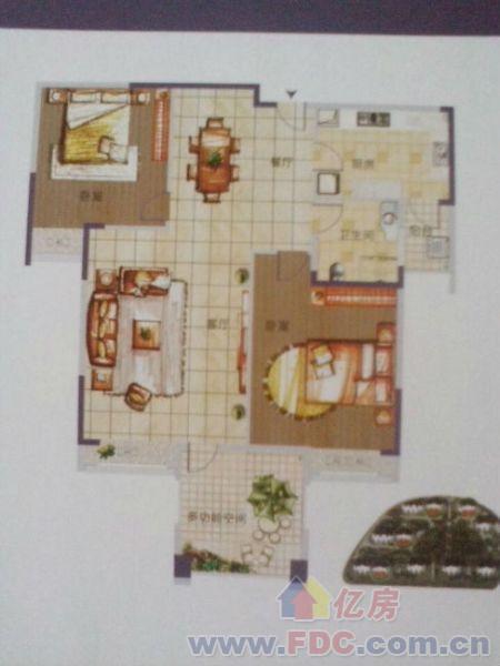 越秀小阳台设计平面图