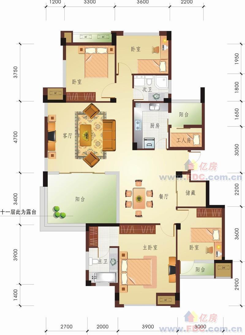 160房屋户型图