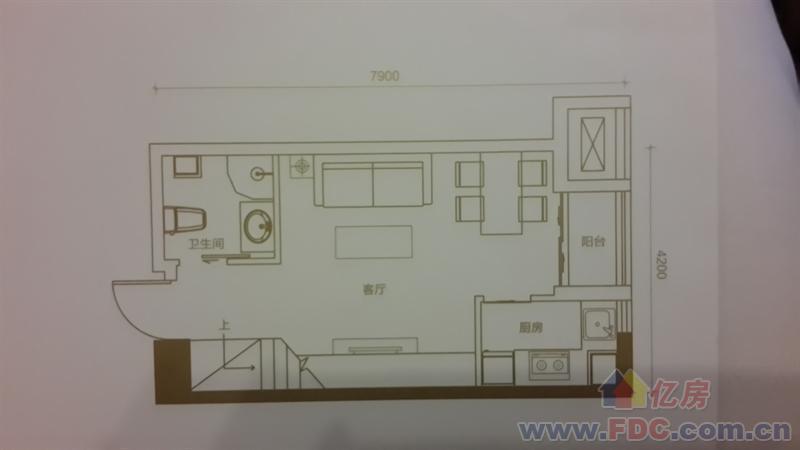 汉口城市广场,宜商宜居,双地铁上loft图片