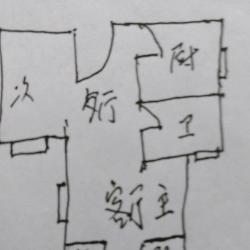 天下龙岭广场新精装修3室2厅房屋出售