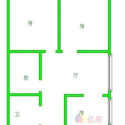 井冈山小学对面 华通花园 老证 采光好 看房方便