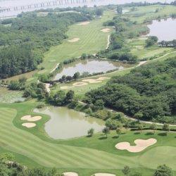 高尔夫球场一线湖景外围花园600平方诚心出售