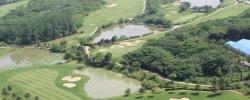 高尔夫球场外围一线湖景超大花园别墅诚心出售