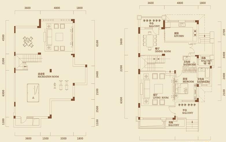 武汉保利中央楼梯别墅图户型公馆里的图片