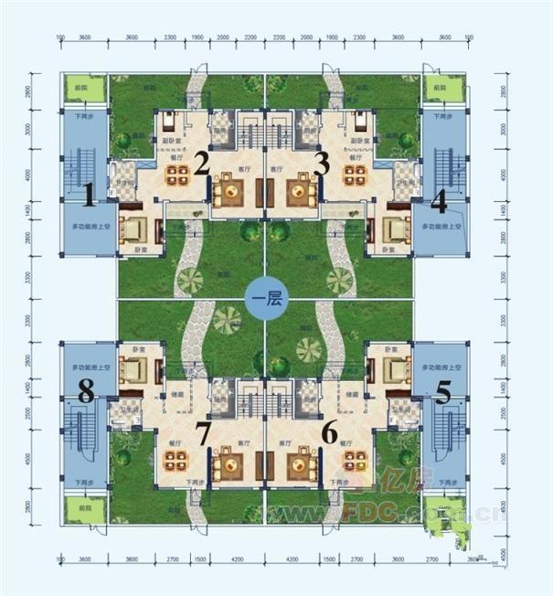 17年农村别墅设计图