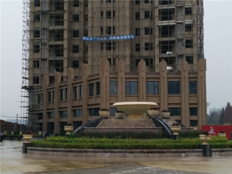 汉北大全景工程进度 武汉新房