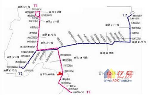 港岛电车线路图