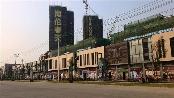 武汉海伦春天实景图-亿房网