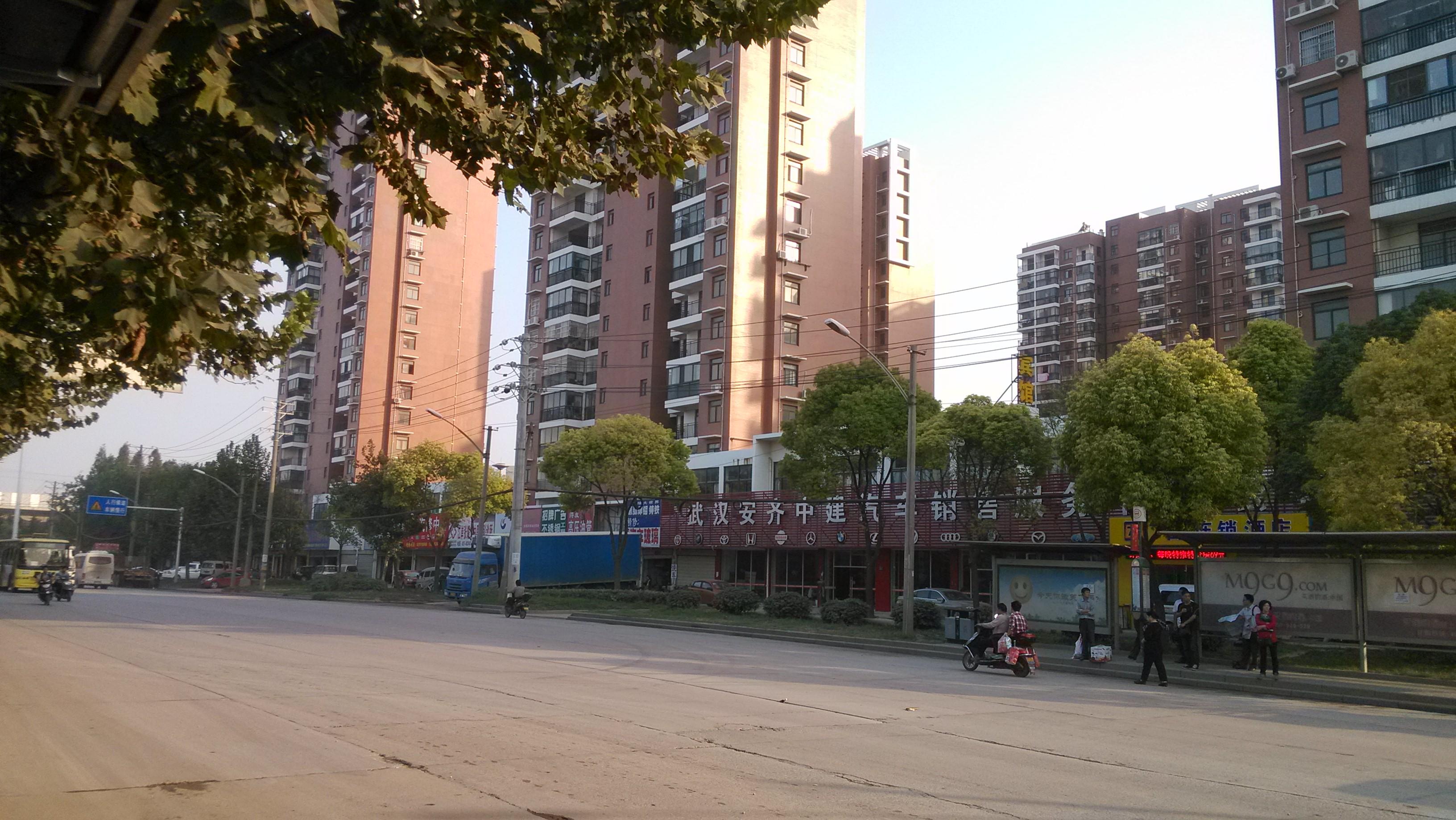 武汉锦湖金利花园商铺实景图-亿房网图片