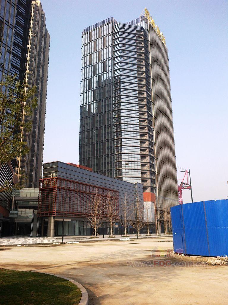 贵阳市金融城双子塔实景
