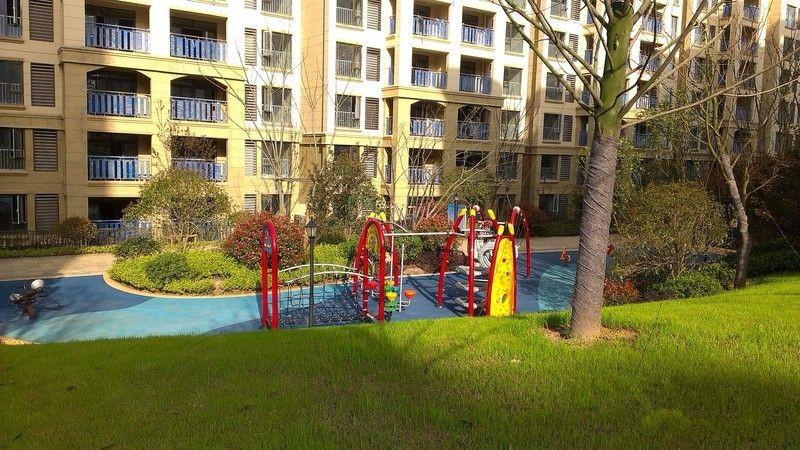 武汉新房 江夏区楼盘 保利清能西海岸  项目y16楼栋周边实景图 项目y1