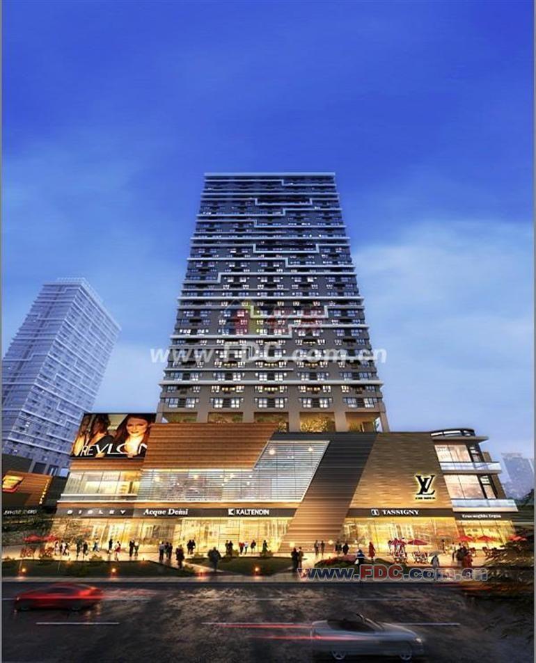 汉口城市广场soho图片
