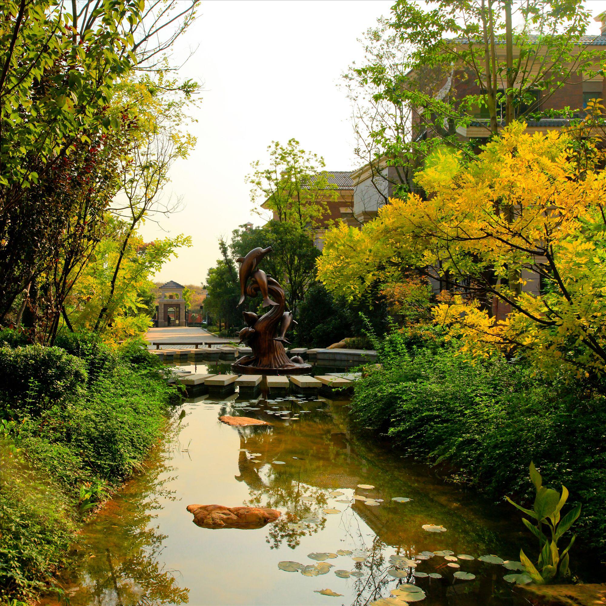 武汉别墅园林景观设计