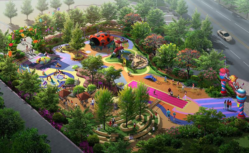 七星儿童乐园平面(效果图)