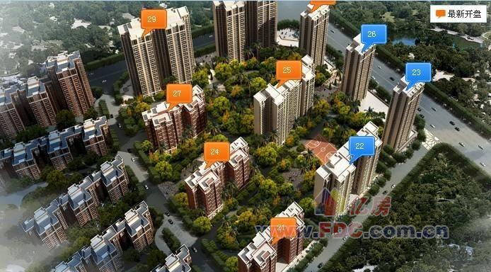 重庆奥林匹克花园具体位置是在哪