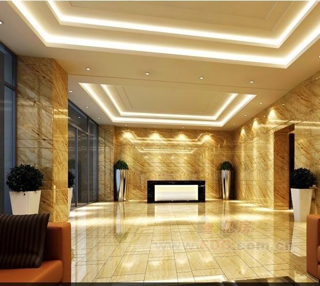 万安soho国际电梯合用前室效果图