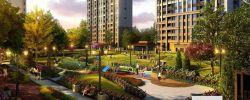3号线市民之家绿地汉口中心94平精装三房户型方正160万!